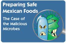 "Icon for ""Preparing Safe Mexican Food"""