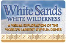 "Icon for ""White Sands, White Wilderness"" produced by NMSU Media Production"